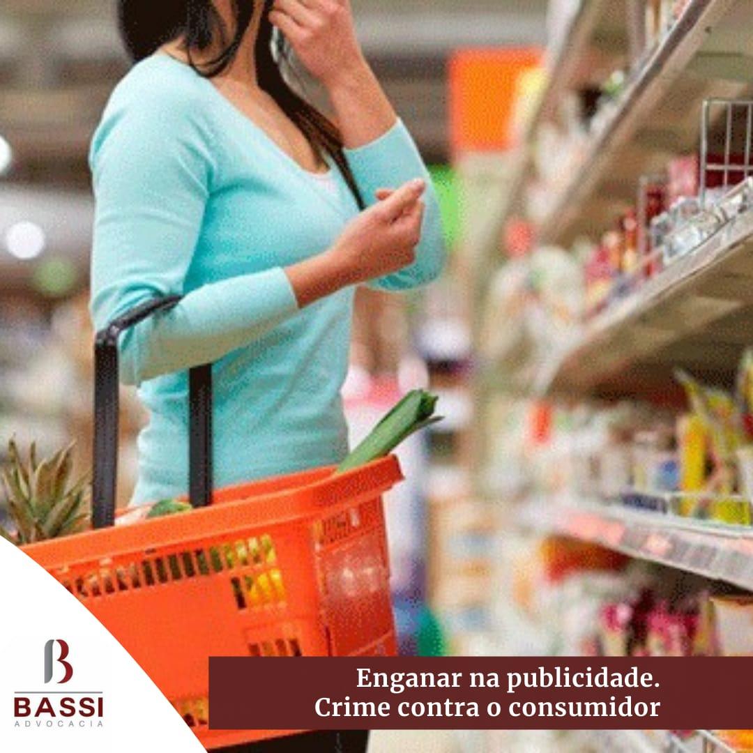 You are currently viewing Enganar na publicidade – Crime contra consumidor.