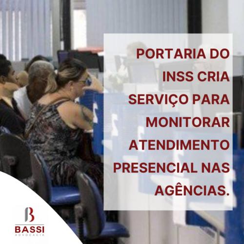 Read more about the article Portaria do INSS cria serviço para monitorar atendimento presencial nas agências.
