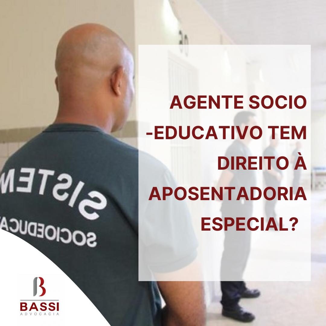 You are currently viewing Agente socioeducativo tem direito à aposentadoria especial?