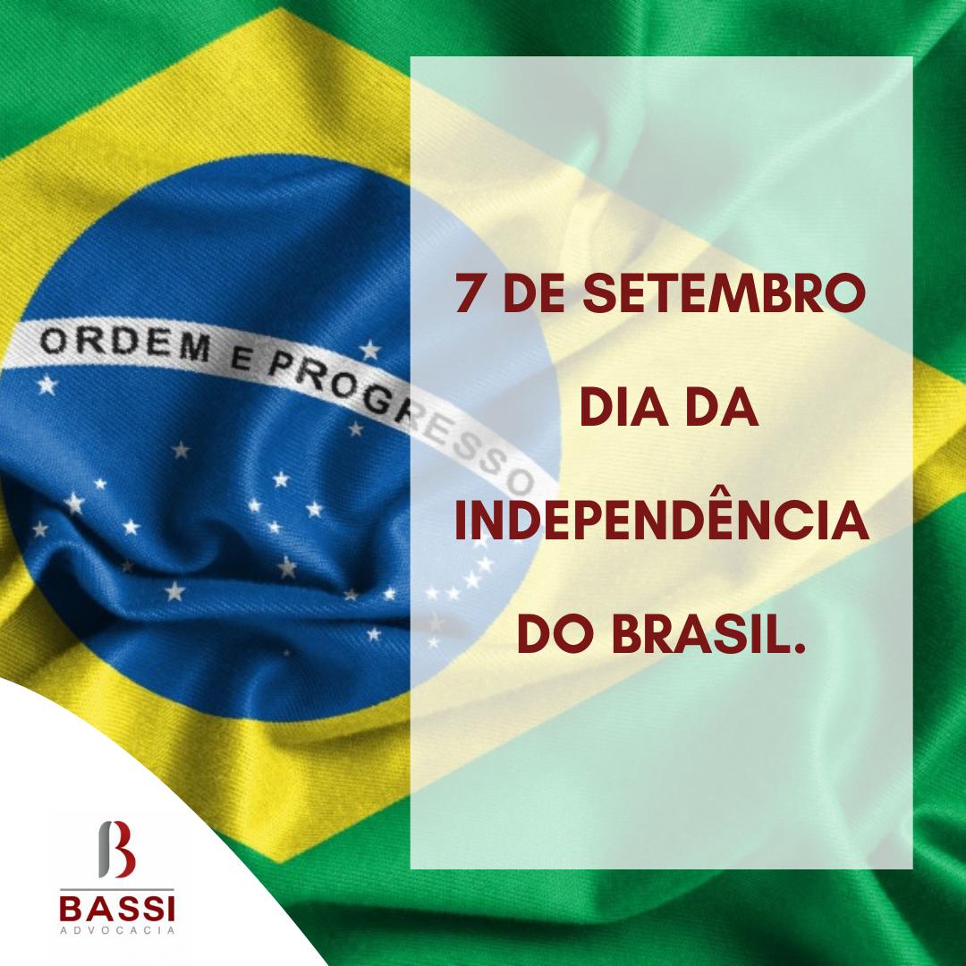You are currently viewing 7 de setembro – Dia da Independência do Brasil.